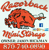 Razorback Mini Storage